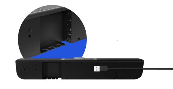 camera hội nghị truyền hình AVer VB342 kết nối cáp USB