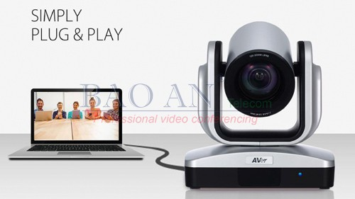 he AVer Cam520 and Cam530 video conferencing camera