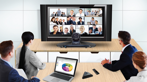 10 Points video conferencing solution incorporating software