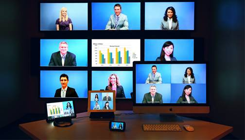 10 points vdeo conferencing solution