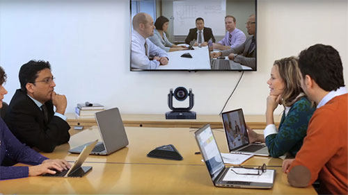Point to point video conferencing solution