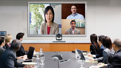 3 Points video conferencing solution