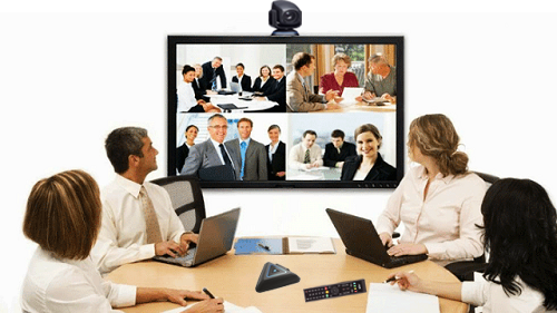 4 Points video conferencing solution incorporating software
