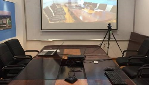 Video conferencing system for Dinco Saigon
