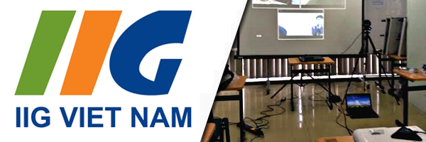 Video conferencing system for IIG Vietnam