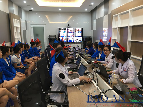 Installation of video conferencing system for Ngoc Dung Beauty Salon