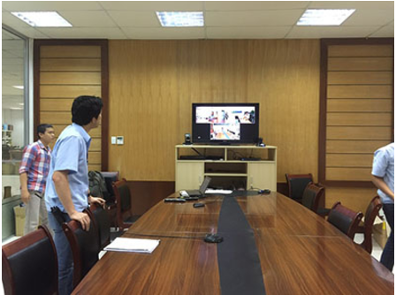 Install online meeting equipment for Sung Hyun Vina