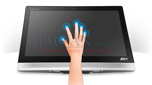 AVer DVC130 has Interactive multi-touch screen