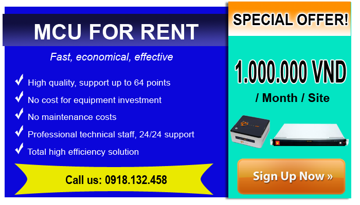 Price shock when renting video conferencing equipment MCU