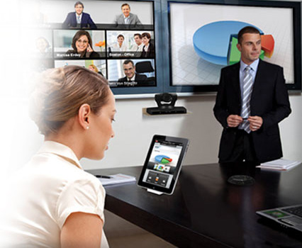 Scopia XT4200 conference room system complements Avaya's video conferencing