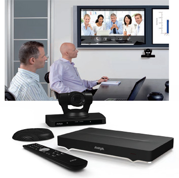 Avaya Scopia XT5000 online meeting room equipment