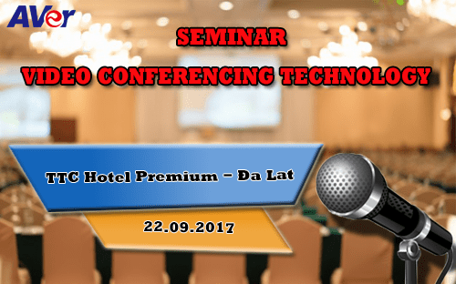 Video conferencing technology seminar 2017