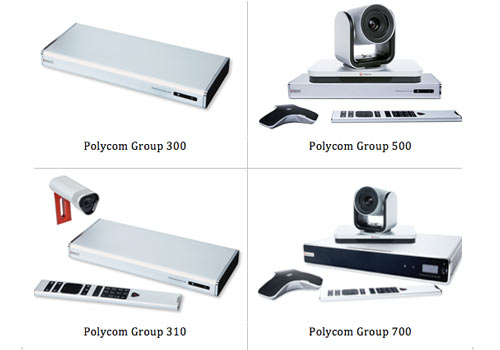 Review dòng thiết bị Polycom Group: Group310, Group500, Group700