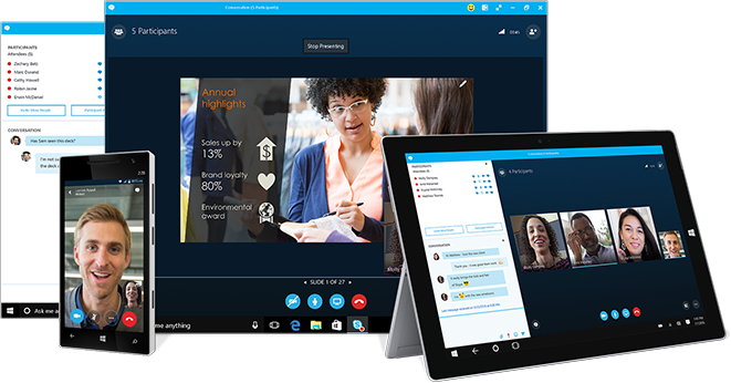 Ứng dụng Skype for Business